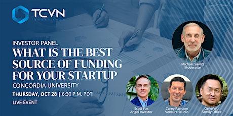 TCVN Presents : Investor Panel with Carey Ransom, Gene Wu, & Scott Fox tickets