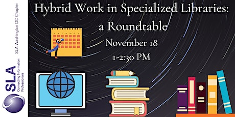 Hybrid Work in Specialized Libraries tickets