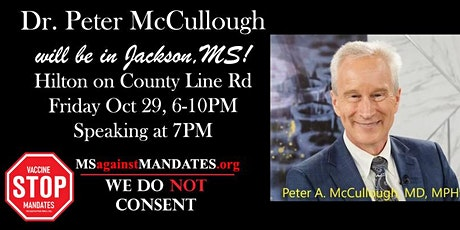 Dr. Peter McCullough in Jackson, MS tickets