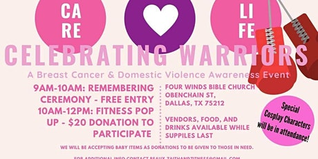 Celebrating Warriors - Breast Cancer   and Domestic Violence Awareness tickets