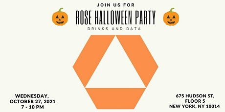 Rose Halloween Party - Drinks and Data tickets