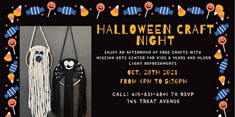 Halloween Craft Night tickets