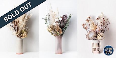 Create & Sip: Dried Floral Arrangements tickets
