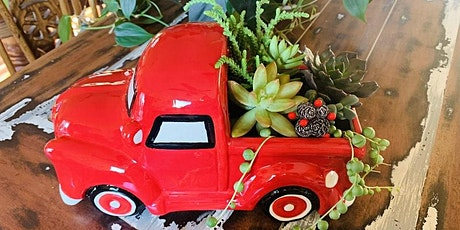 Holly Jolly Holiday Market Craft Workshop: Lil' Red Truck Succulent Planter tickets