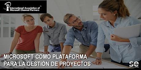 Microsoft como plataforma para la Gestión de Proyectos entradas