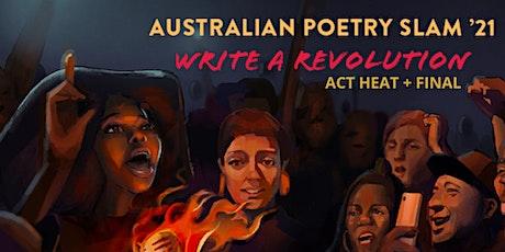 Australian Poetry Slam ACT Heat & Final tickets
