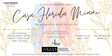 Casa Florida Miami: A Taste of Miami Art Week tickets
