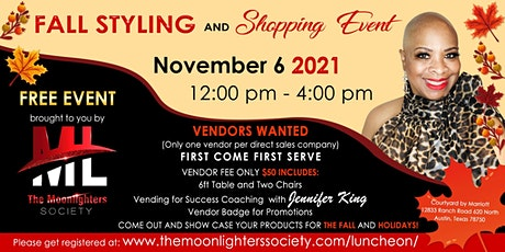 Fall Styling and Shopping Event tickets
