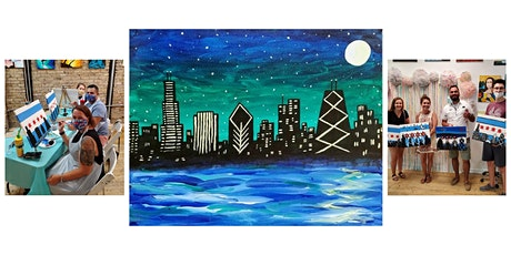 """BYOB Paint and Sip Event - """"Chicago Skyline"""" tickets"""
