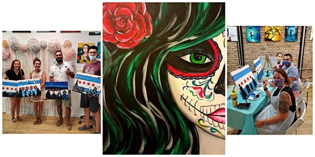 """BYOB Paint and Sip Event - """"Day of the Dead"""" tickets"""