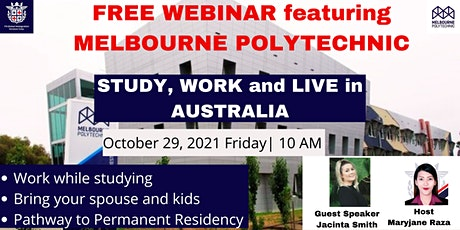 FREE WEBINAR featuring MELBOURNE POLYTECHNIC tickets