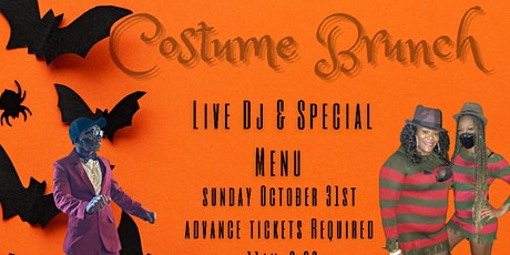 The Costume Brunch tickets