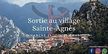 sortie au village Sainte Agnès tickets
