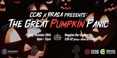 CCAS X BRASA presents: The Great Pumpkin Panic tickets