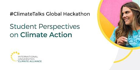 #ClimateTalks Global Hackathon: Student Showcase Event tickets