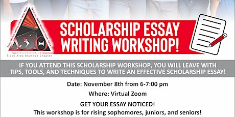 College Essay Writing Workshop for High School Students tickets