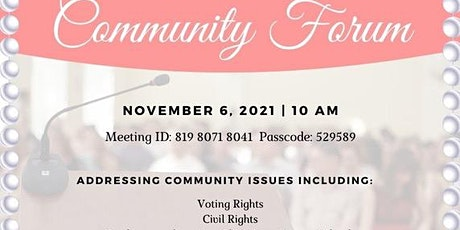 Horry County Community Forum tickets