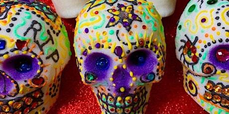 MEXICAN SUGAR SKULL ART CLASS tickets