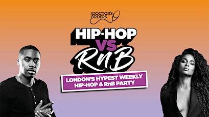 HIP-HOP vs R&B tickets