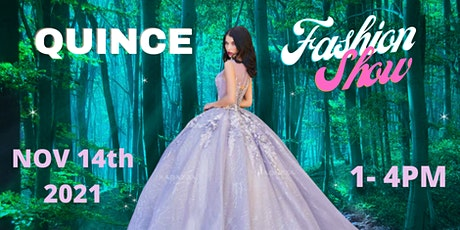 Big Sale 2021 Enchanted Forest Quince Fashion Show 50% off in some brands tickets