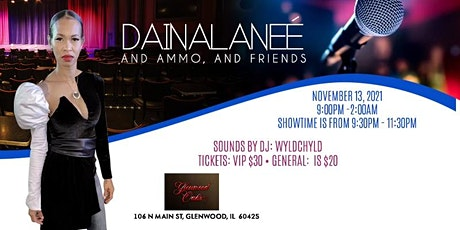 Daina Laneé birthday showcase and party tickets