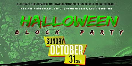 Halloween Block Party - Lincoln Road Miami Beach tickets
