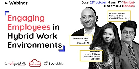 Engaging Employees in Hybrid Work Environment tickets