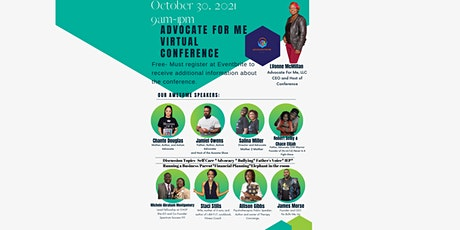 Advocate For Me, LLC Virtual Conference tickets