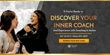 Discover Your Inner Coach Virtual Summit tickets