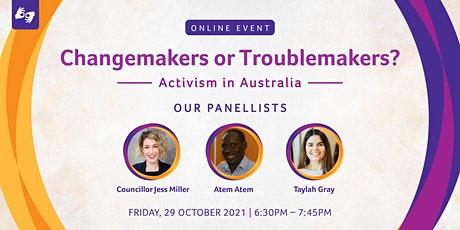 Changemakers or Troublemakers? tickets