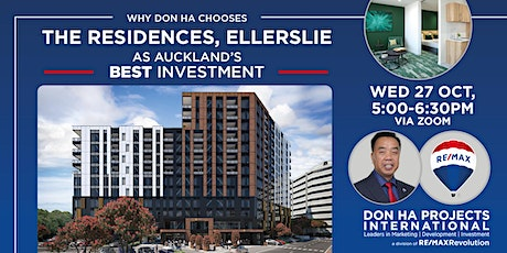 Why Don Ha chooses The Residences, Ellerslie, as Auckland's best investment tickets