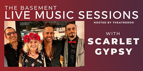 Theatreroo's Live Music Sessions  w/ Scarlet Gypsy Quartet| Sat 30 Oct tickets