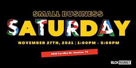 BLCK Market presents SMALL BUSINESS SATURDAY at Buffalo Soldiers Museum tickets