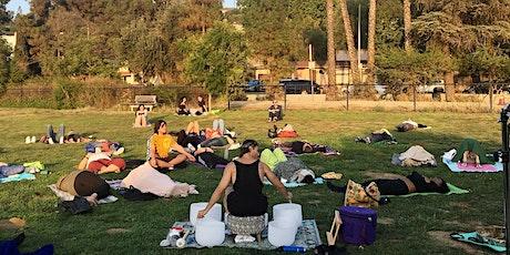 FREE In Person Outdoor Sound Bath Sound Healing @ Libbit Park Encino tickets