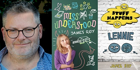 Story Room writing course with author James Roy- Online (9 to 11 years) tickets