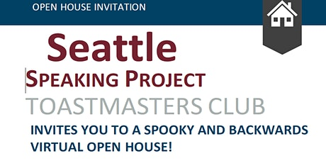 Seattle Speaking Project Toastmasters Club Open House Event! tickets