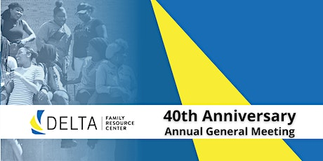 Delta's 40th Anniversary & Annual General Meeting tickets