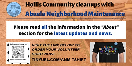 Hollis Community Cleanups tickets