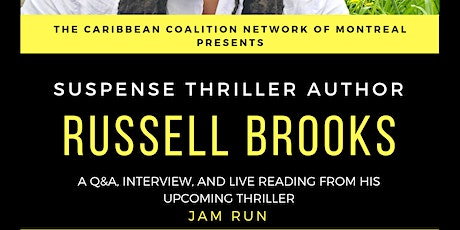 Interview with Russell Brooks, Montreal Author tickets