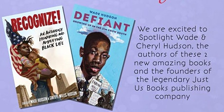 """Eyeseeme Spotlight: Two New Books From """"Just Us Books"""" Publishing tickets"""