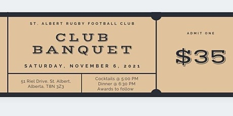 End of the Year Banquet tickets