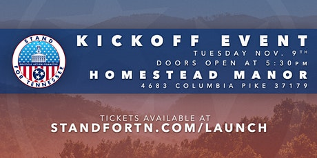 Stand for Tennessee PAC Kickoff tickets