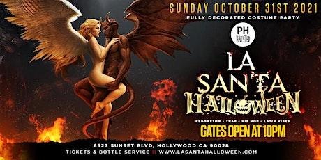 La Santa Reggaeton Halloween Party tickets