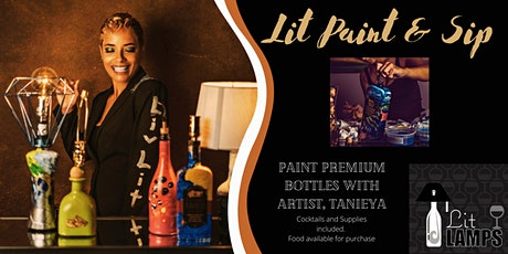 Lit Paint and Sip tickets