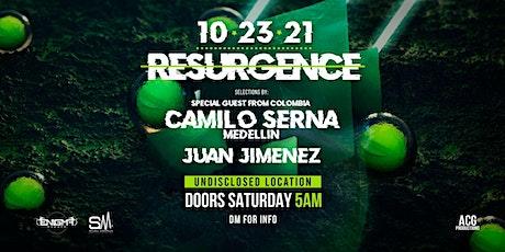 Resurgence | Camilo Serna | Juan Jimenez tickets