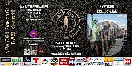 NEW YORK FASHION GALA (F/W 22) – Saturday February 12th 2022 tickets