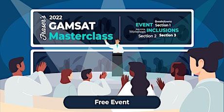 Free GAMSAT Masterclass | Online tickets