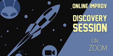 Online Improv - FREE Discovery Session- Beginners ONLY tickets