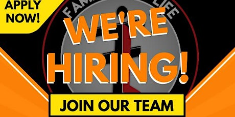 WE'RE HIRING - You are Qualified. tickets