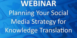 WEBINAR: Planning Your Social Media Strategy for...